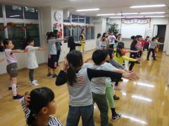 ヒップホップダンス練習