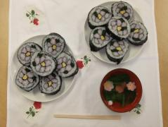 飾り寿司の試作